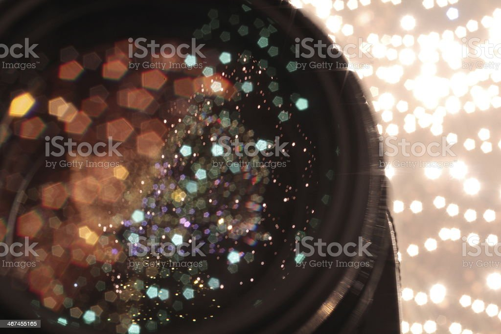 lights and galaxy royalty-free stock photo