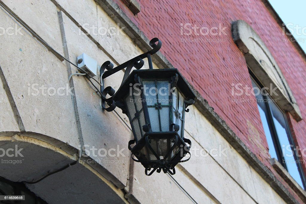Lights and lanterns. stock photo