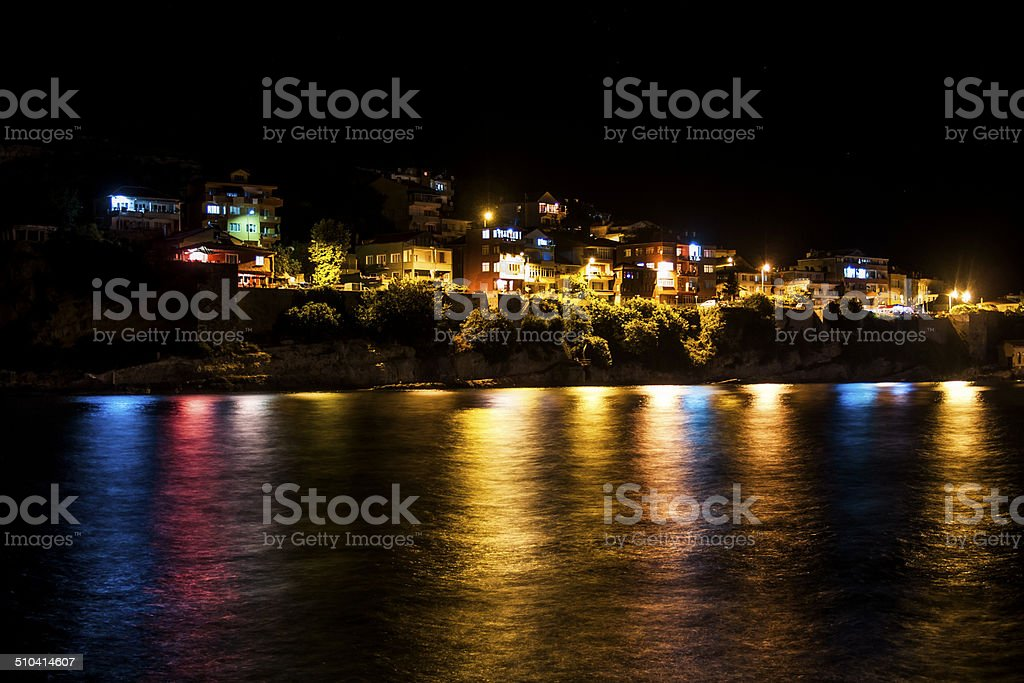 Lights and reflections royalty-free stock photo