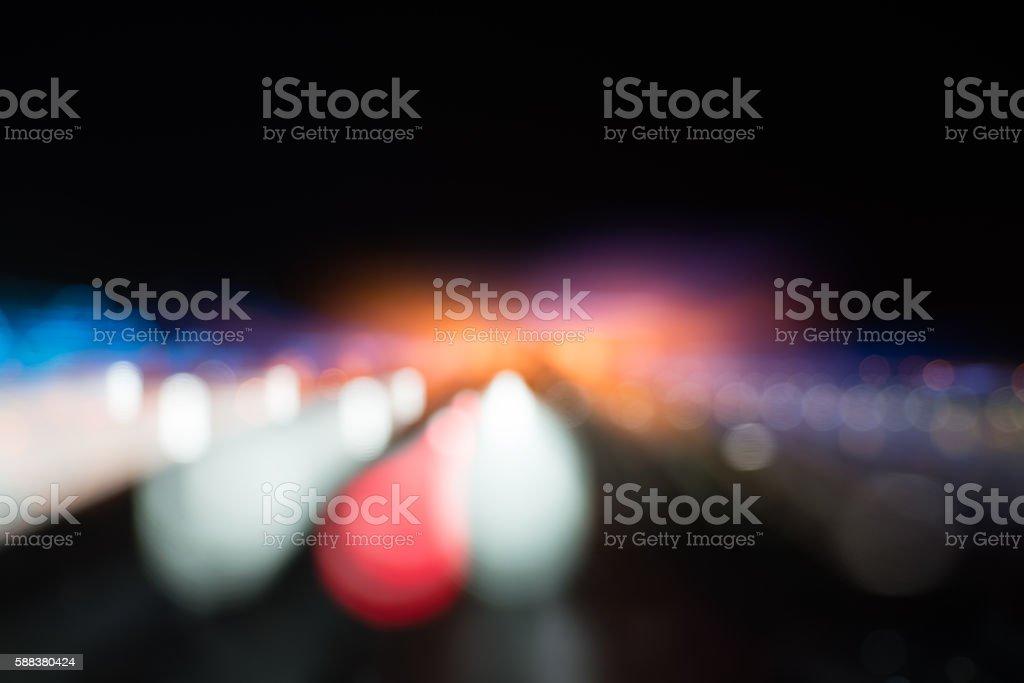 Lights Background. Christmas Lights Concept. stock photo