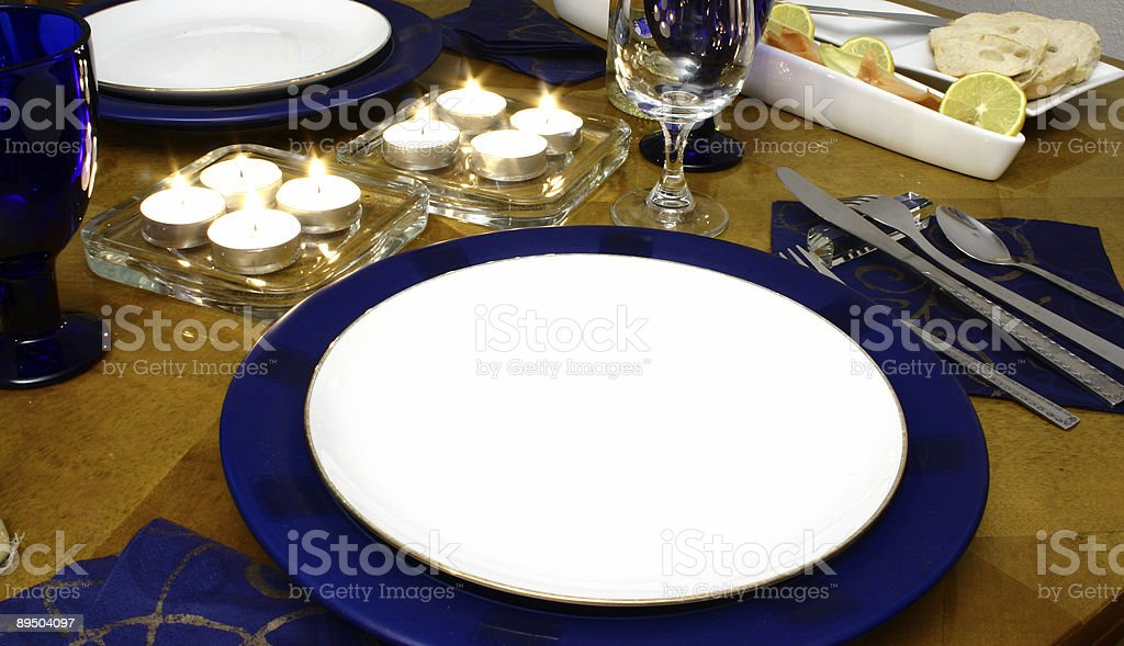 Lights between plates royalty-free stock photo