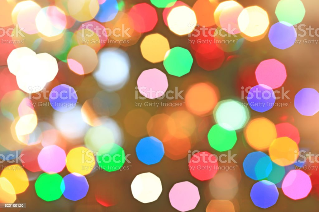 Lights Bokeh Background stock photo