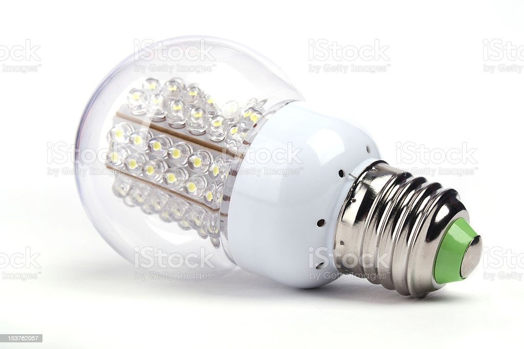 LED Lights bulb royalty-free stock photo