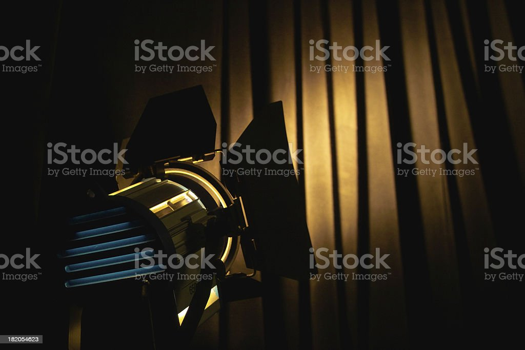 lights, camera, action 7 royalty-free stock photo