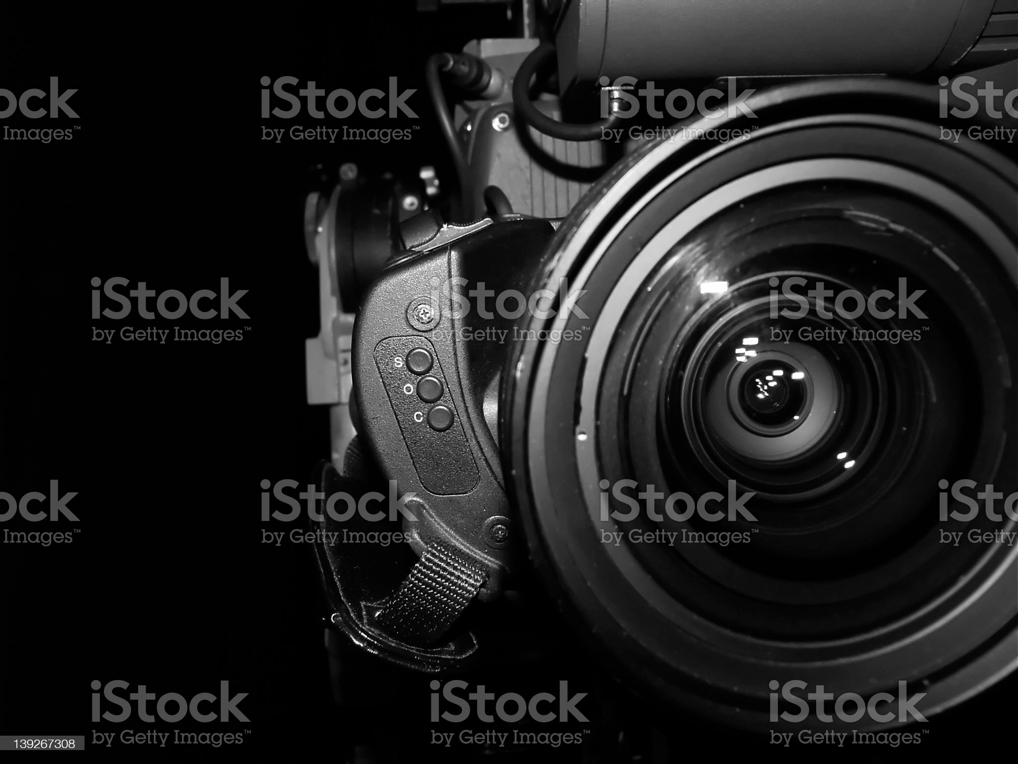 lights, camera, action royalty-free stock photo
