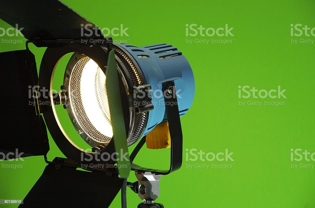 lights, Camera, Action (2) royalty-free stock photo