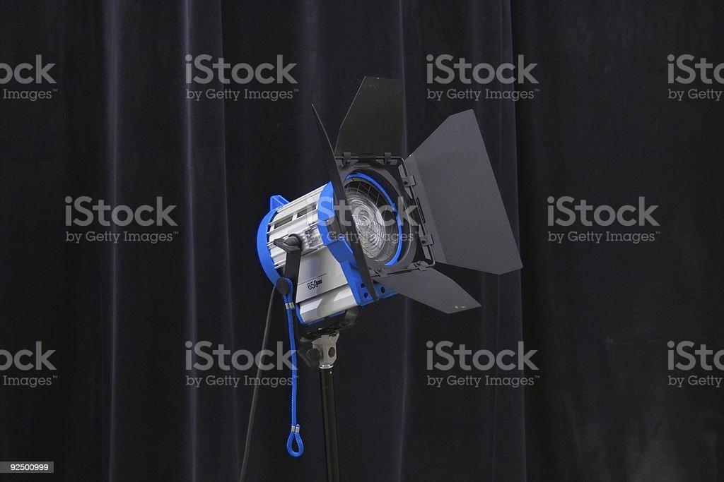 lights, camera,action 4 stock photo