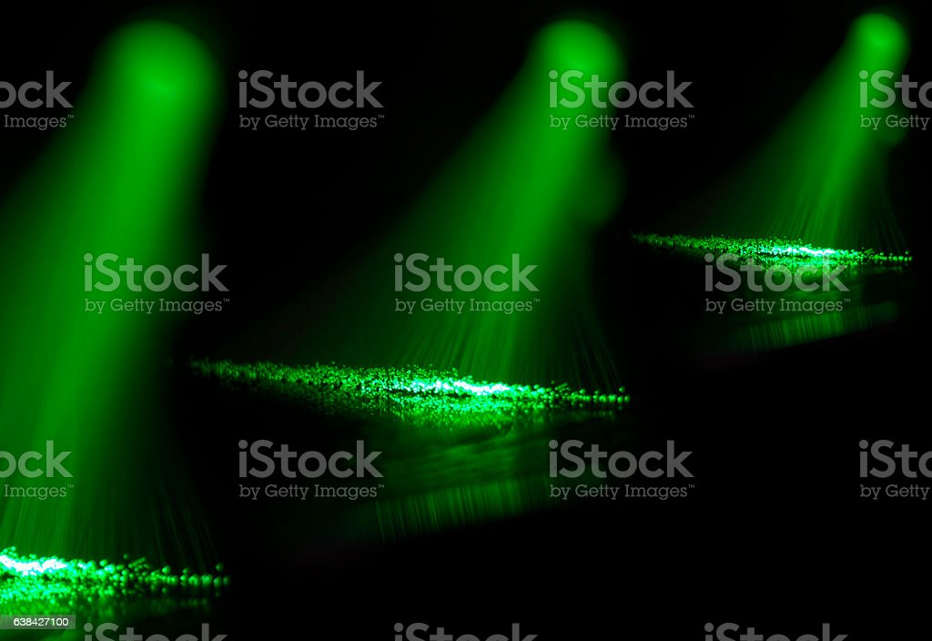 lights Fiber optics abstract background stock photo