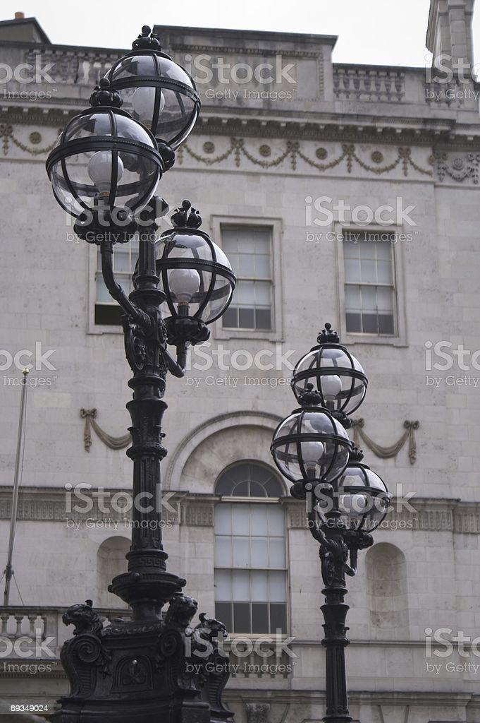 Lights in Dublin stock photo