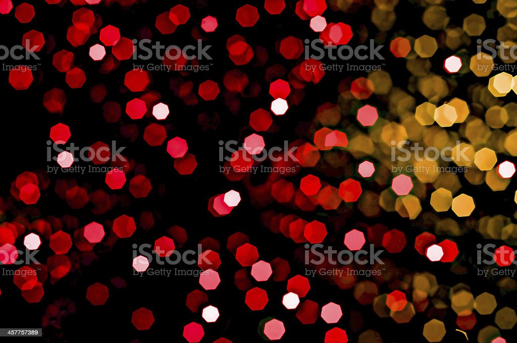 lights in soft focus royalty-free stock photo