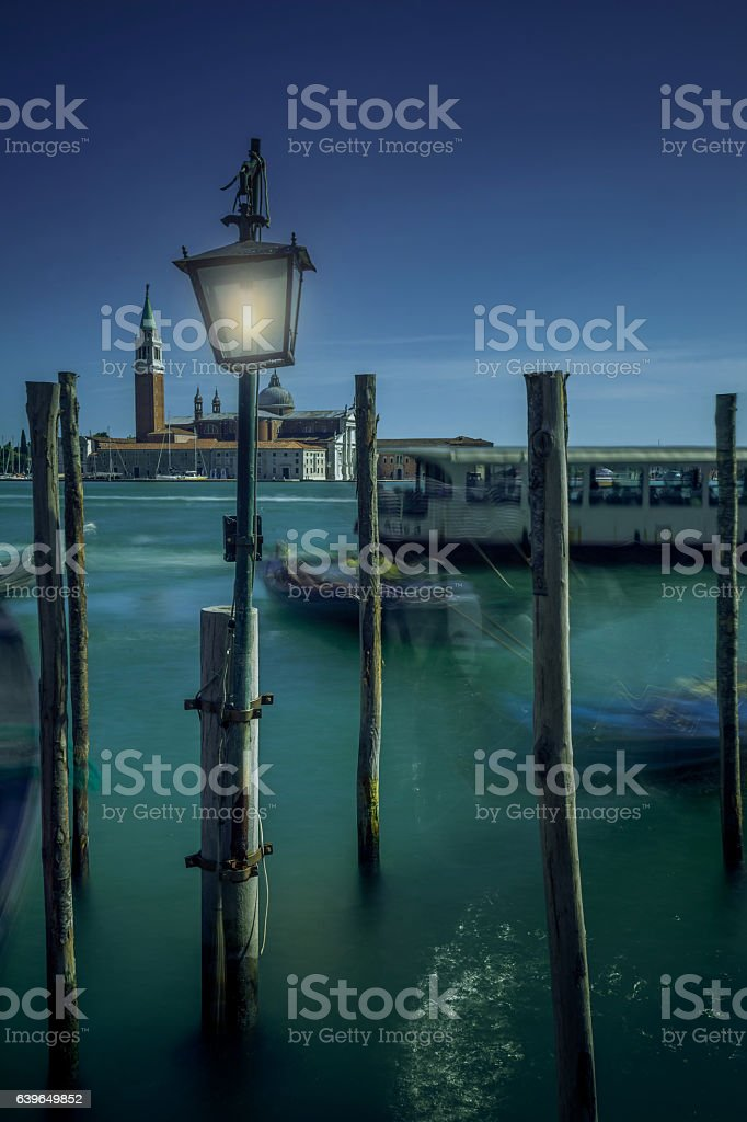 Lights in Venice. stock photo