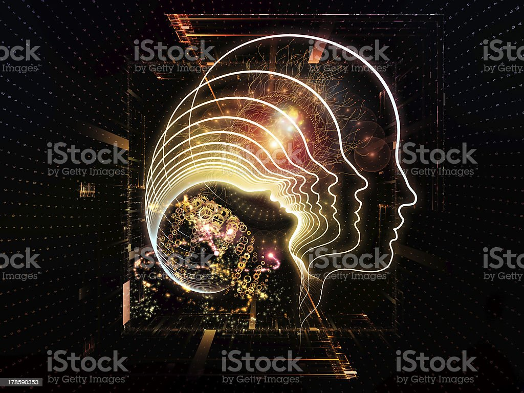 Lights of Consciousness royalty-free stock photo