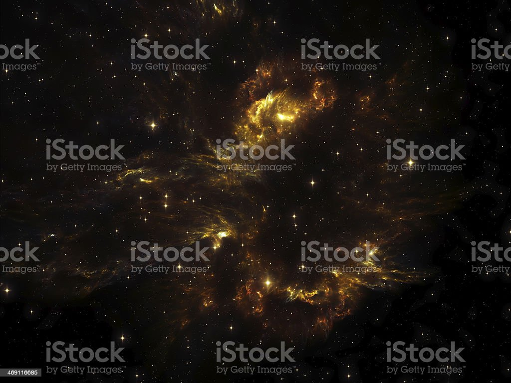 Lights of Cosmos royalty-free stock photo