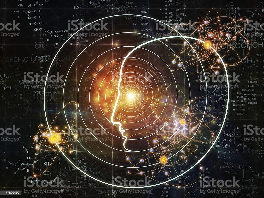 Lights of Intelligence royalty-free stock photo