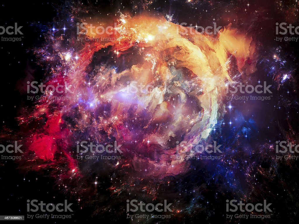 Lights of Space royalty-free stock vector art