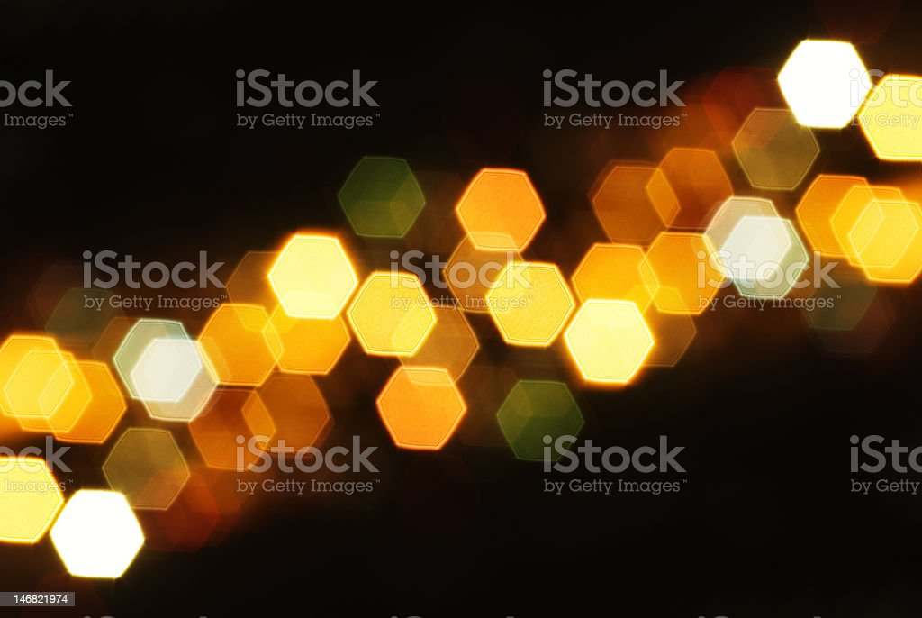 Lights of the City royalty-free stock photo