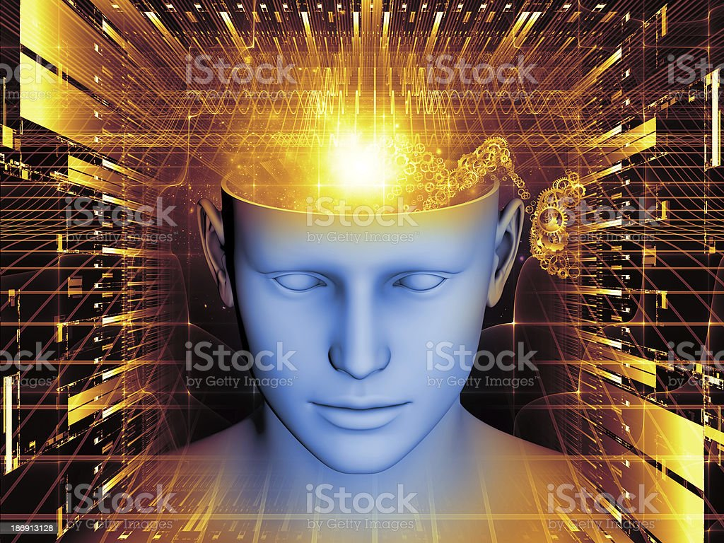 Lights of the Mind royalty-free stock photo