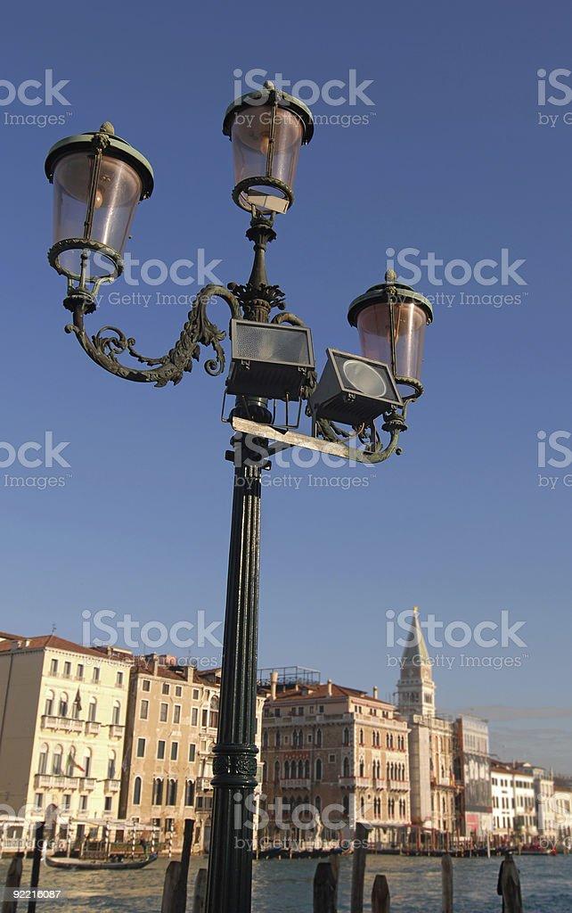 Lights of Venice royalty-free stock photo