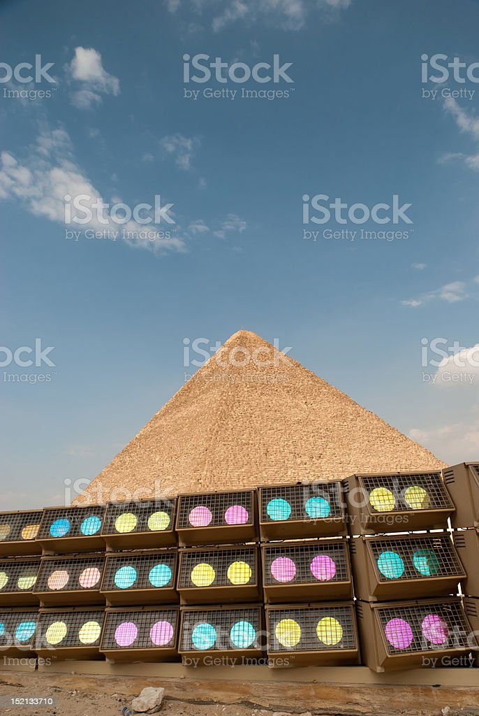 lights on history royalty-free stock photo