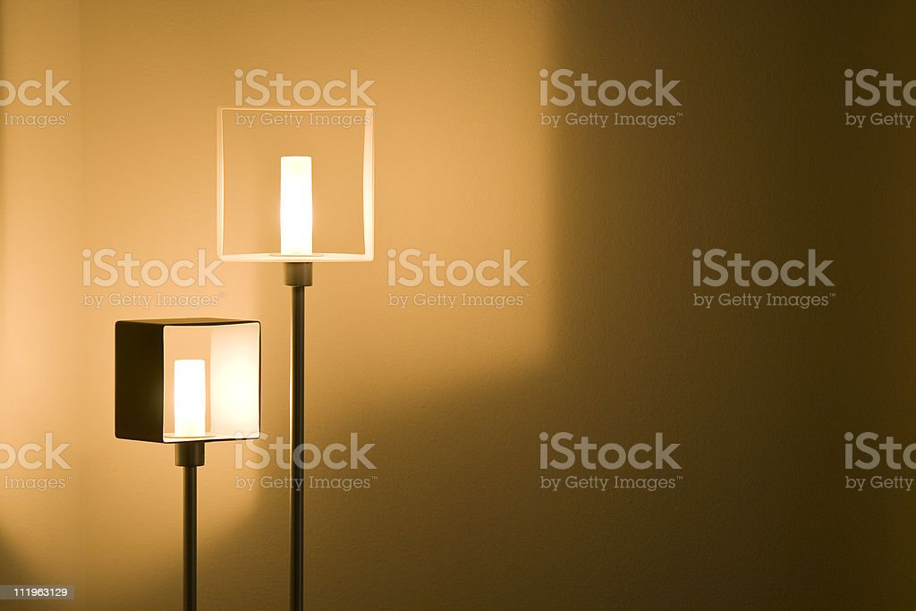 Lights on stock photo