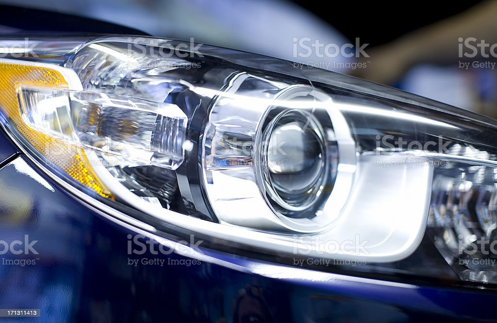 HID Lights stock photo