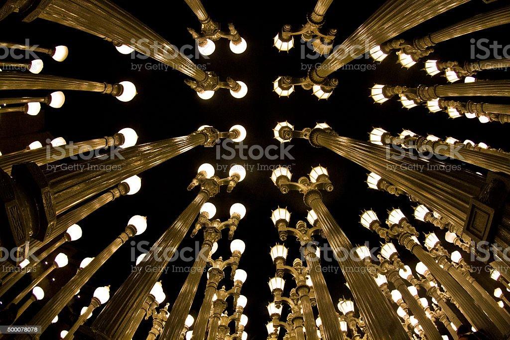 Lights stock photo