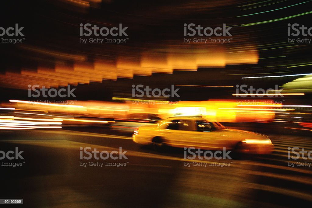 Lights, Traffic, Action 2 royalty-free stock photo