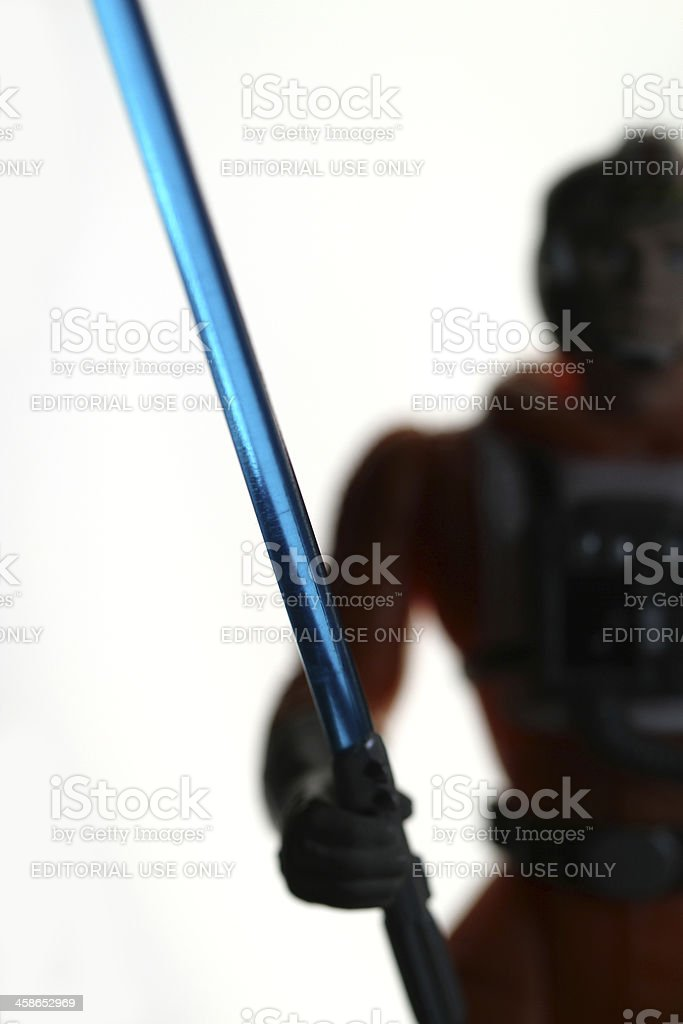 Lightsaber royalty-free stock photo