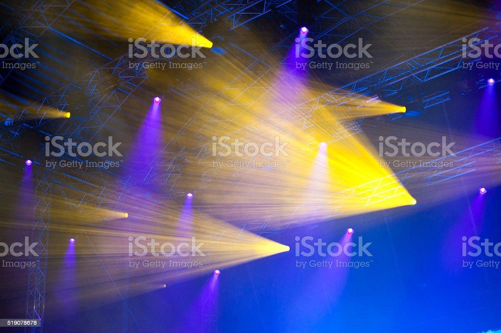 Lightshow stock photo