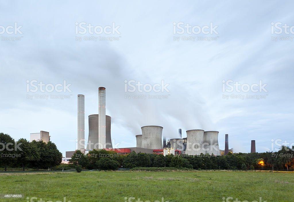 Lignite Power Station royalty-free stock photo