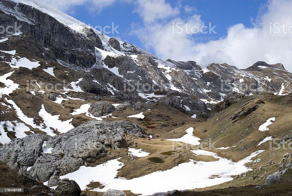 Ligurian Alps, Italy royalty-free stock photo
