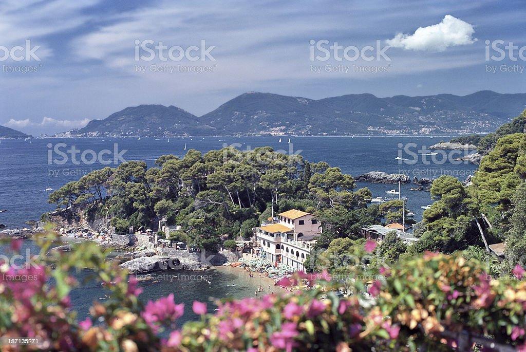 Ligurian Coast - Costa ligure, Cinque Terre stock photo
