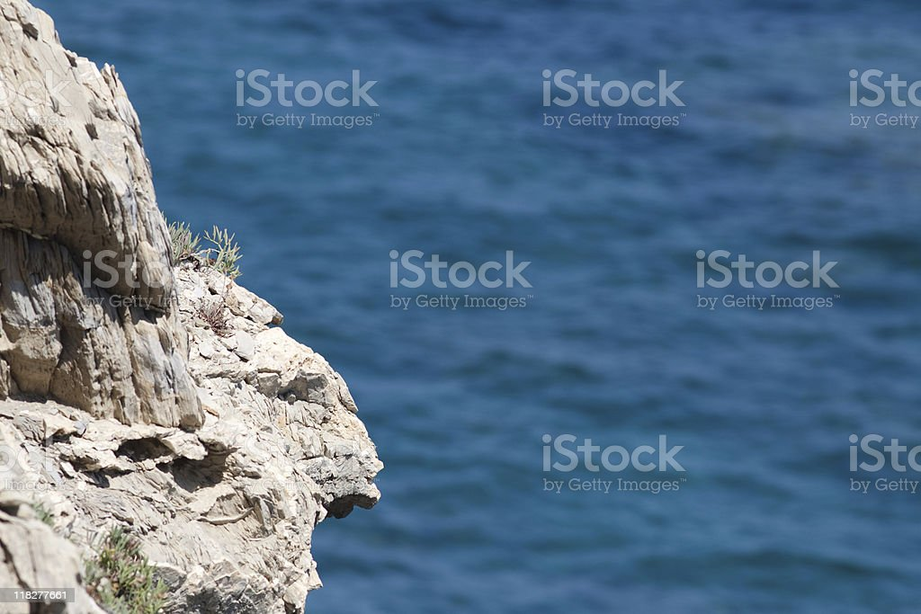 Ligurian Seascape, Liguria Panorama Coast - Italy stock photo