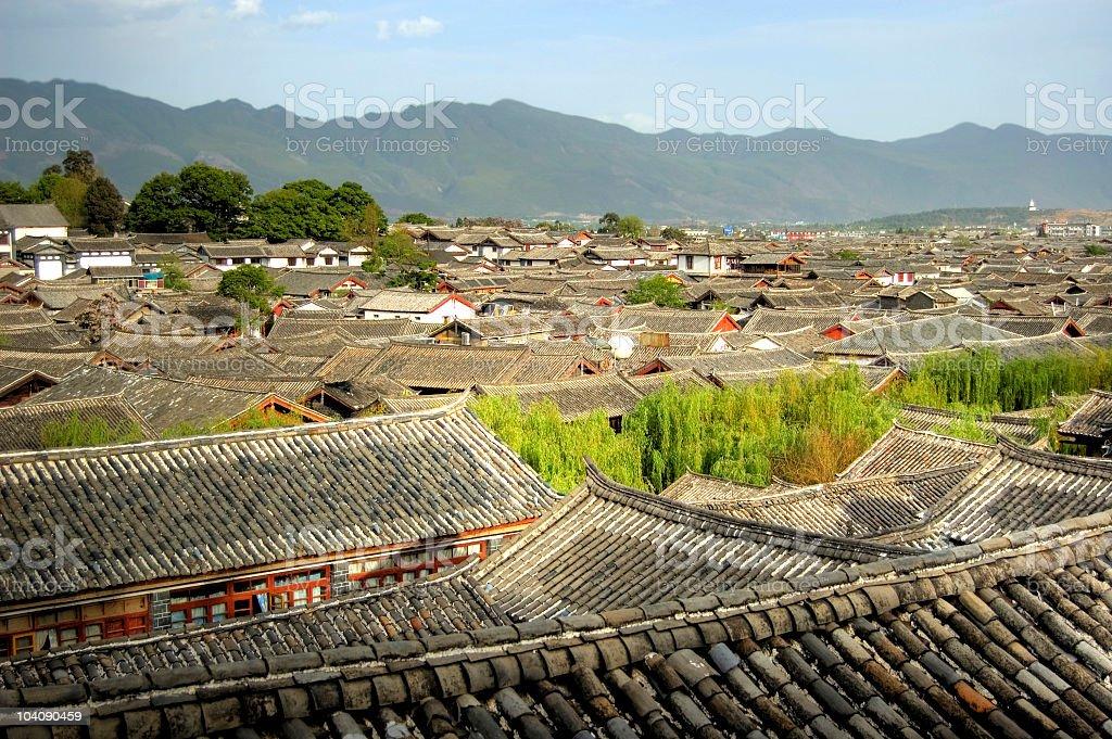 Lijiang ancient town royalty-free stock photo