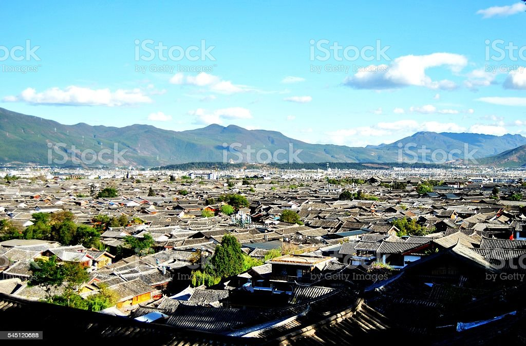 Lijiang città vecchia foto stock royalty-free