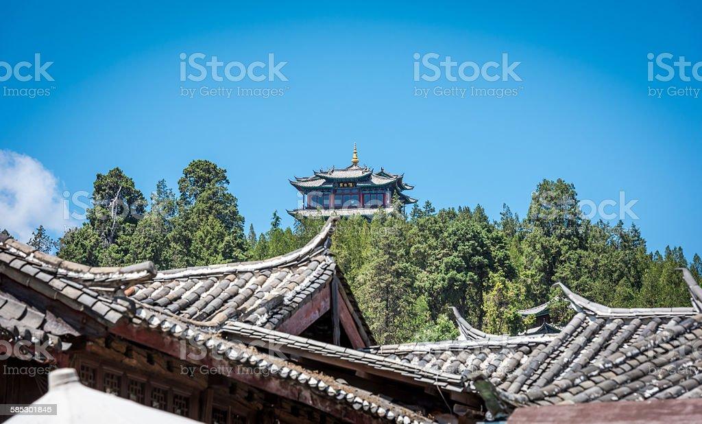 Lijiang old town, yunnan, China stock photo