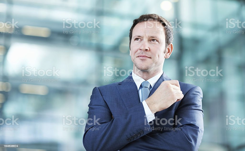 Like a boss royalty-free stock photo
