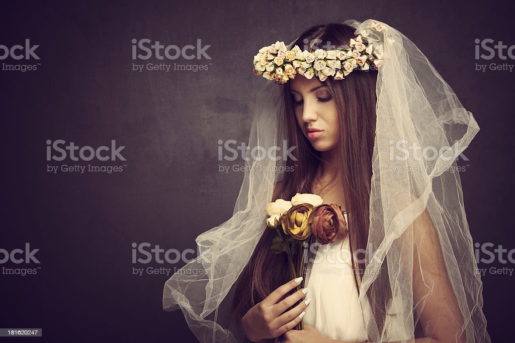 like a bride royalty-free stock photo