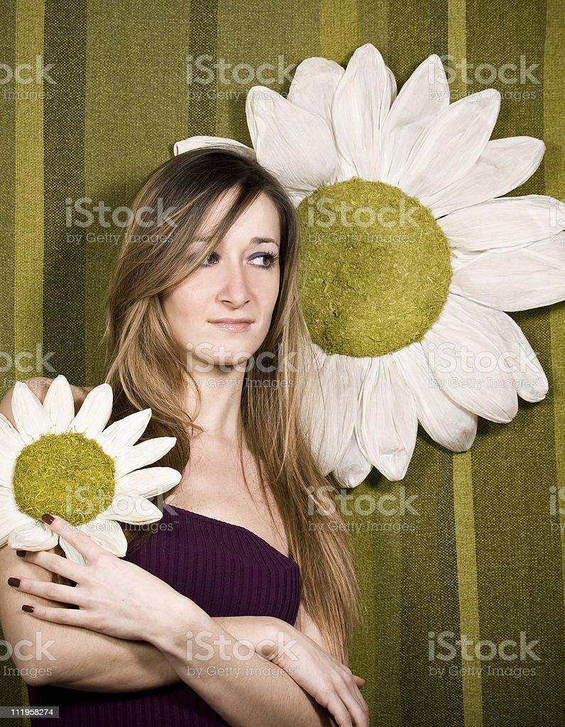 Like a flower stock photo