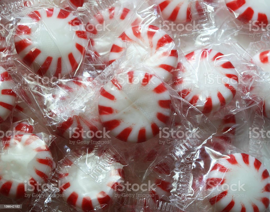 Mint Candies (2) royalty-free stock photo