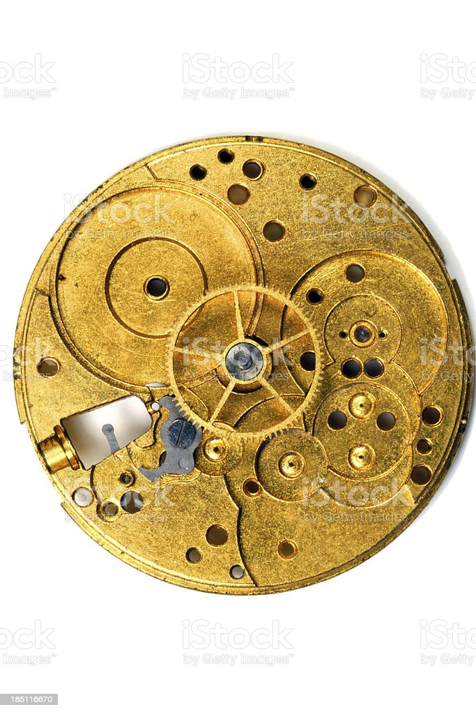 Like Clockwork royalty-free stock photo