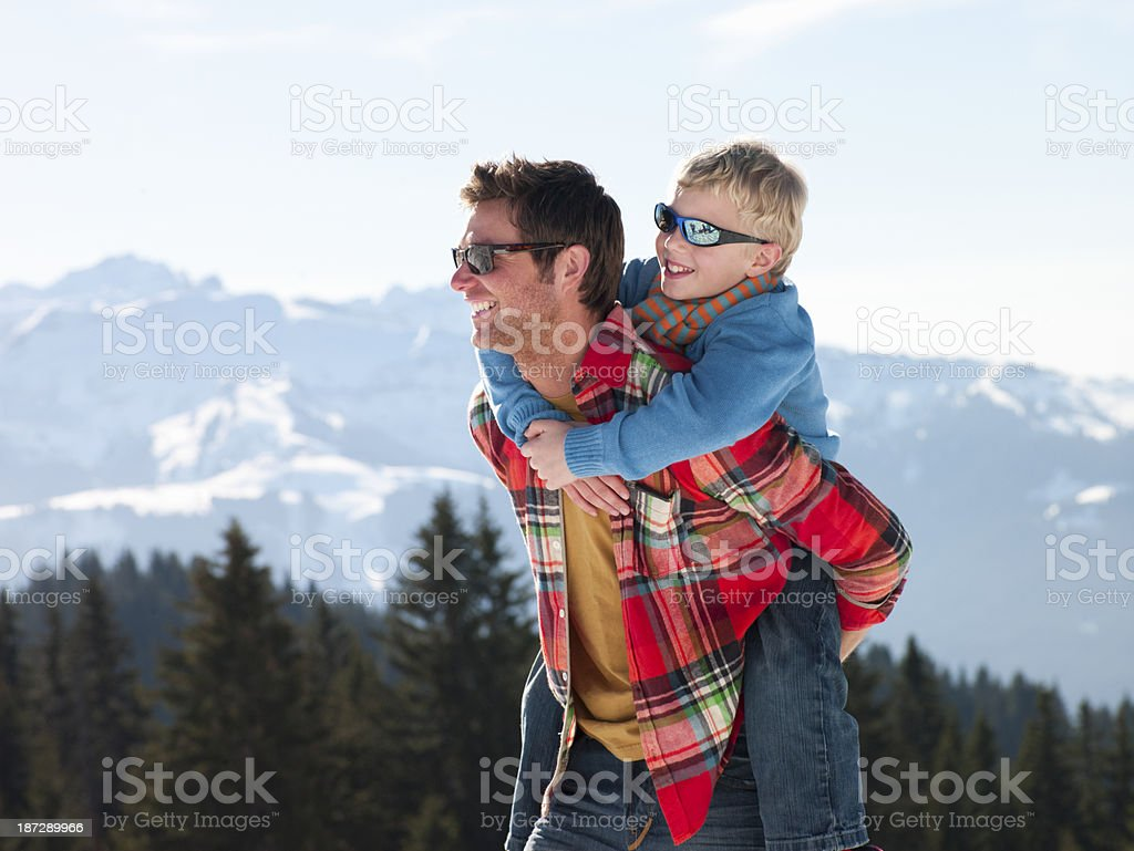 Like Father Like Son royalty-free stock photo