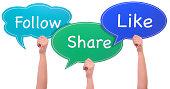 Like follow and share