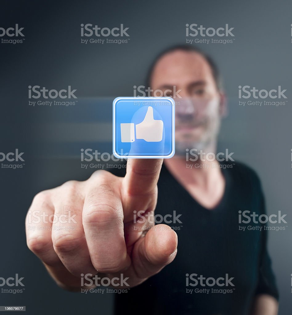 I Like it royalty-free stock photo
