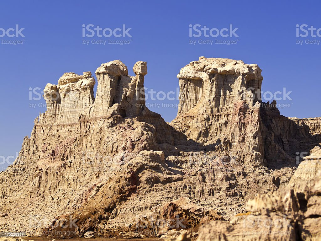 Like Monument Valley stock photo