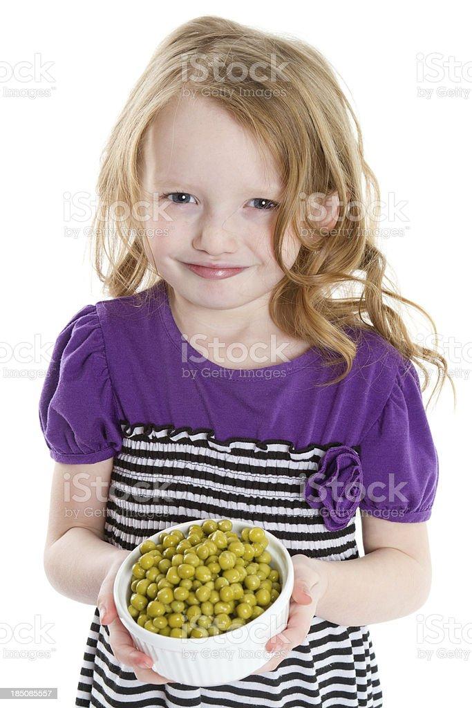 I like peas royalty-free stock photo