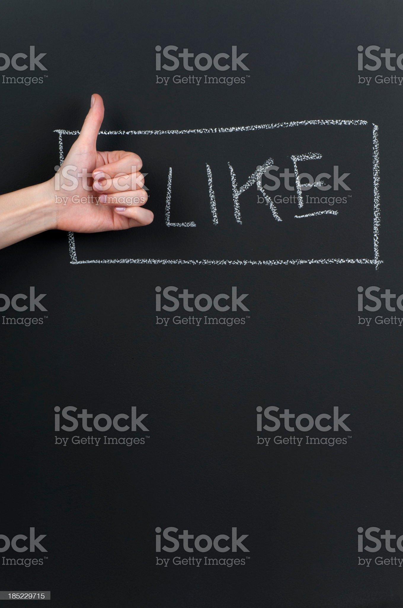 Like royalty-free stock photo