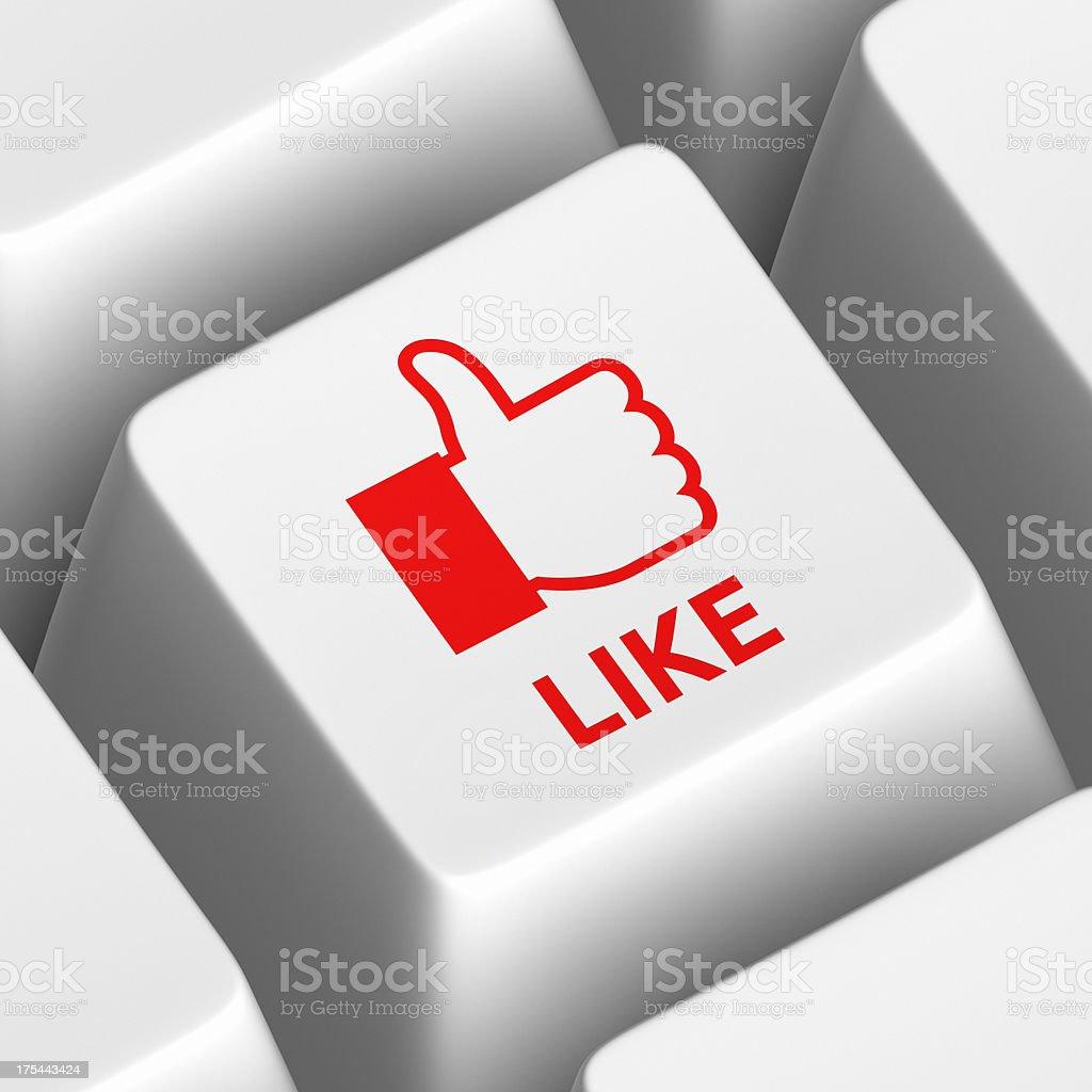 Like Social Media XL stock photo
