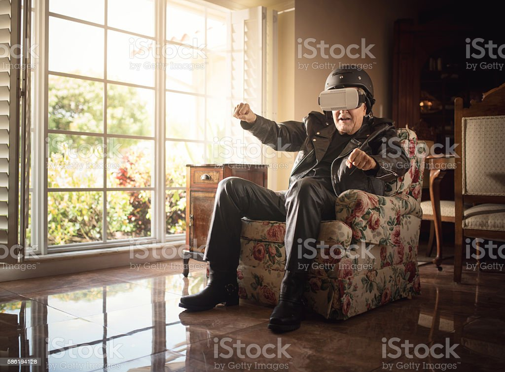 Like the real thing stock photo