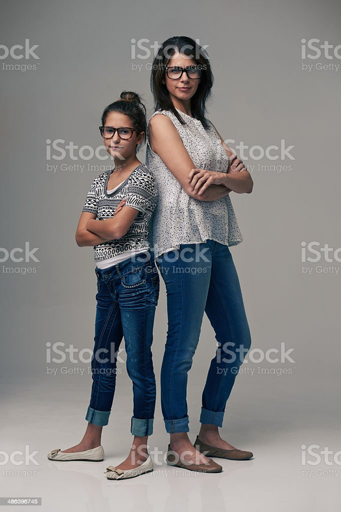Like two peas in a pod stock photo